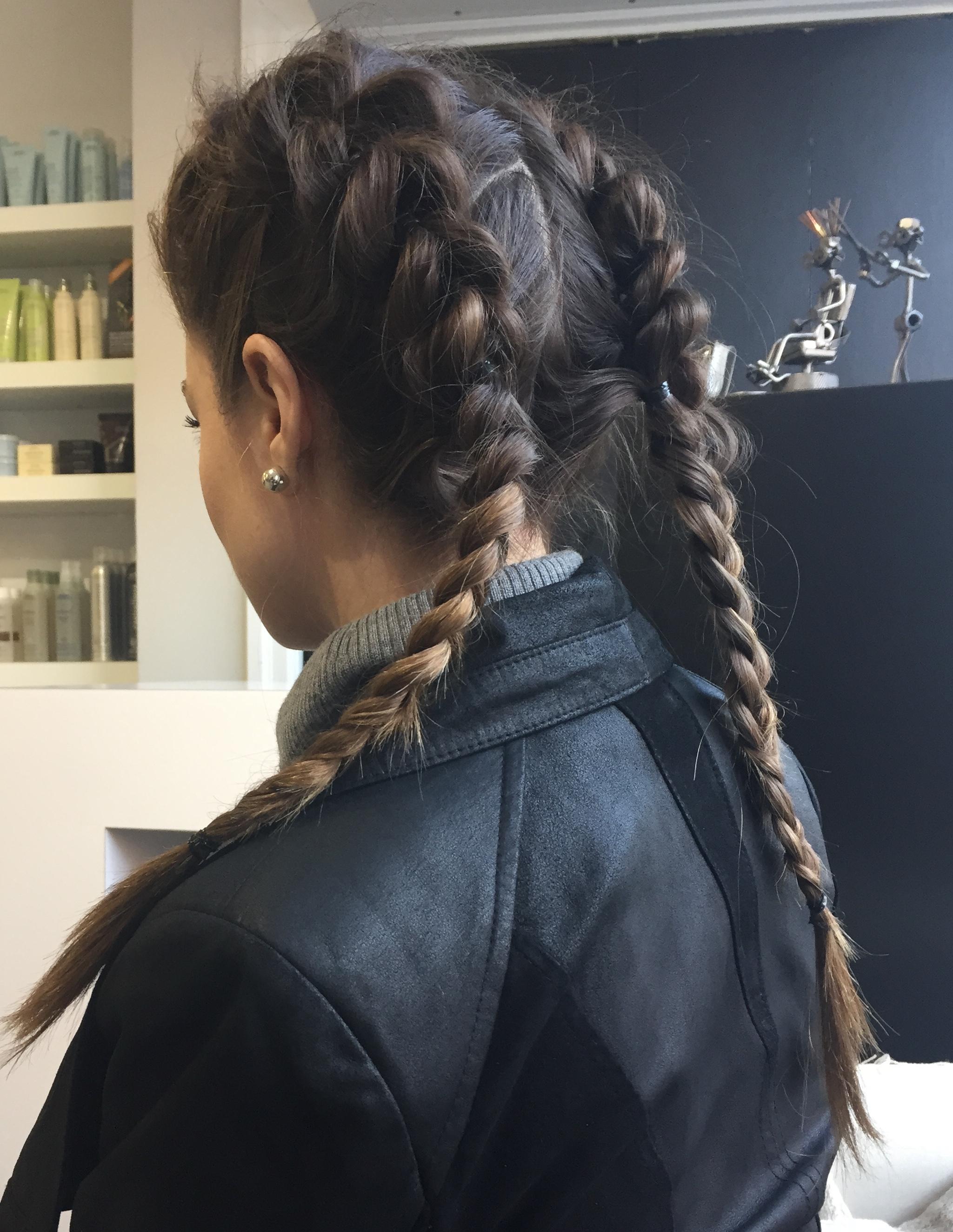 Institut Racine -coiffeur - dutch braids - tresses