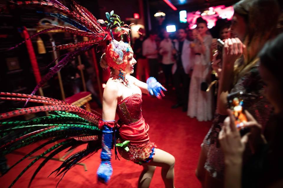 artiste cirque Grand Prix - F1 - Richmond - Red Carpet -The Montrealista