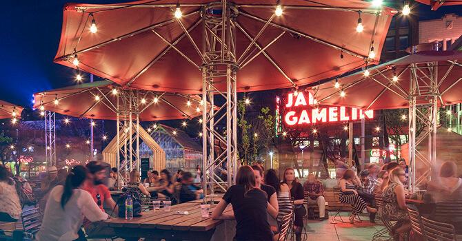 Jardin Gamelins - Quartier des Spectacles - Montréal
