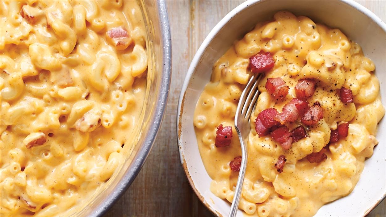 Mac Cheese - Ricardo - Comté - Gruyère - Stout - bière - bouffe réconfortante - comfort food