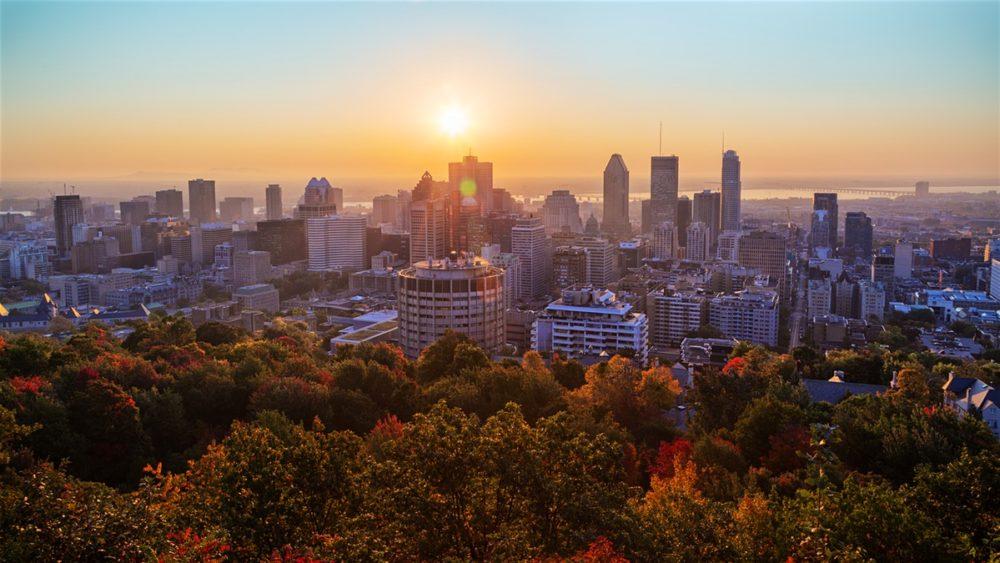 Montréal automne - Mont-Royal