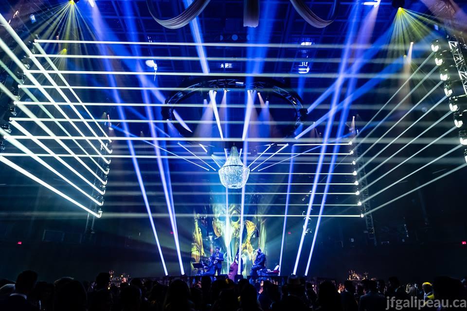 scène principale - Let's Bond 2018 - Venezia Extravaganza - benefit - gala - évènement bénéfice