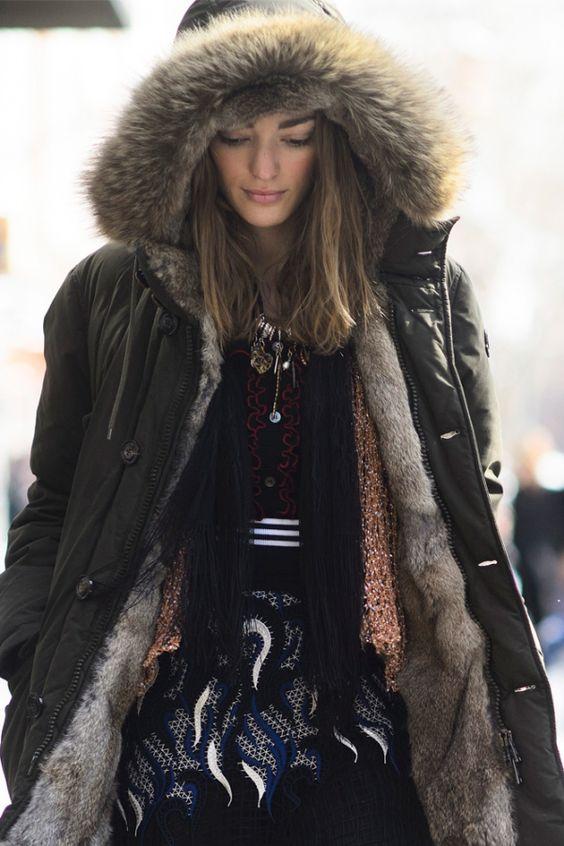 Parka - manteau d'hiver