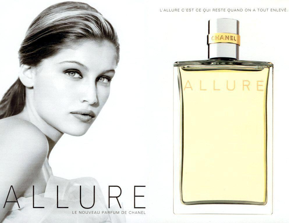 Chanel-Allure-advert - Laetitcia Cast - parfum - perfume