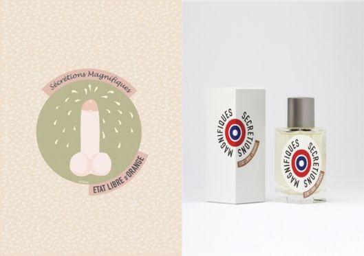 Sécrétions magnifiques - État libre d'Orange - parfum - perfume - fragrance