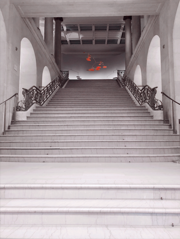 Escalier - staircase - New Year's resolution - MBAM - Alexander Calder