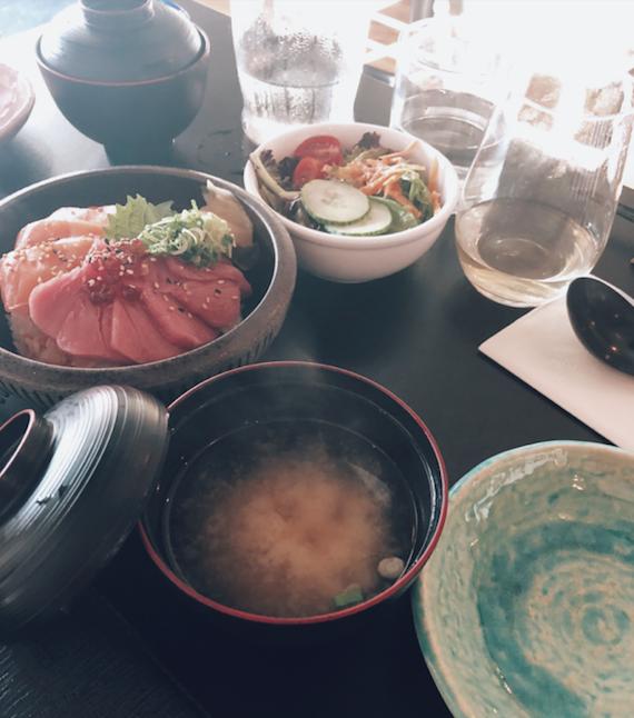 Restaurant Nozy - Quartiers du Canal - Cuisine japonaise - Japanese cuisine - Don Miso Sashimi