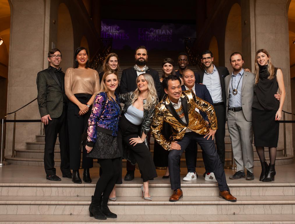 D-Vernissage - MBAM - CJP Musée des Beaux-Arts de Montréal - Cercle des jeunes Philanthropes - Momies égyptiennes
